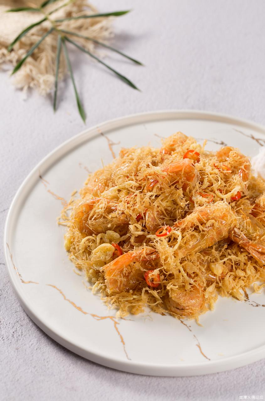 金丝奶油虾